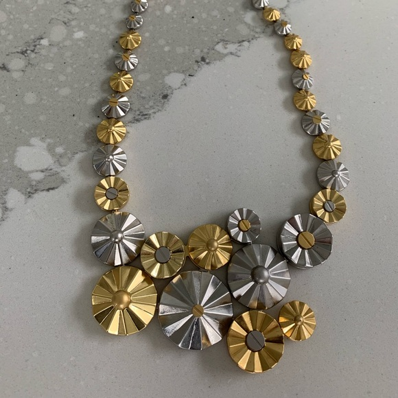Really Nice Gold & Silver Coach Necklace!